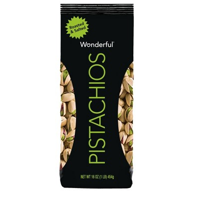 Wonderful Pistachios Roasted & Salted - 16oz