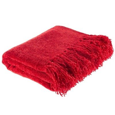 "60""x70"" Oversized Lightweight Chenille Throw Blanket - Yorkshire Home"