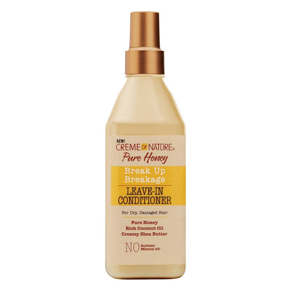 Image of Cream of Nature Pure Honey Break Up Breakage Leave-In Conditioner - 8oz