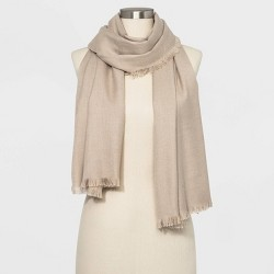 Women's Woven Essential Oblong Scarf - A New Day™