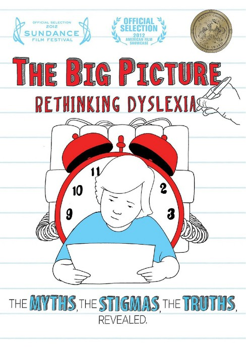 Big picture:Rethinking dyslexia (DVD) - image 1 of 1