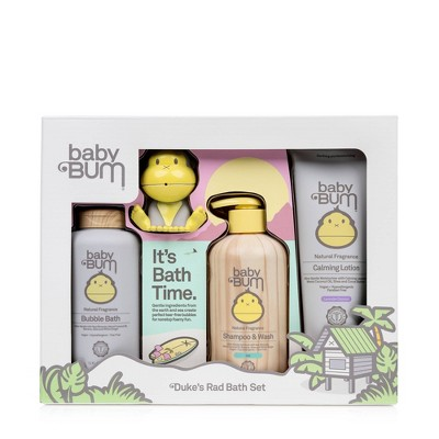 Baby Bum 4pc Baby Bath Time Gift Set