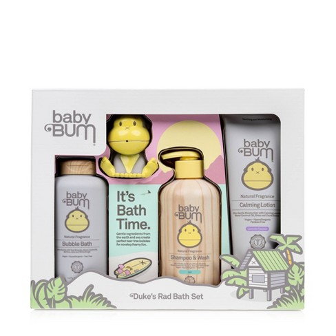 Baby Bum 4pc Baby Bath Time Gift Set - image 1 of 4