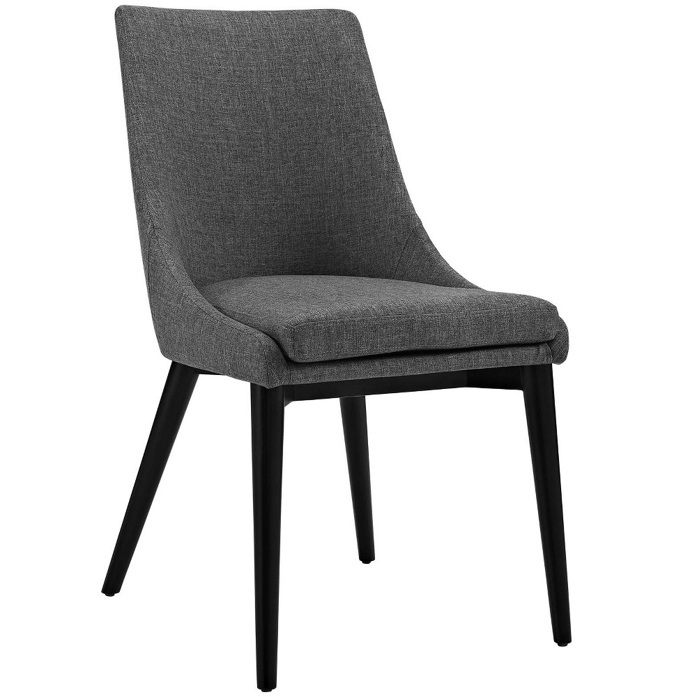 Viscount Fabric Dining Chair Gray - Modway