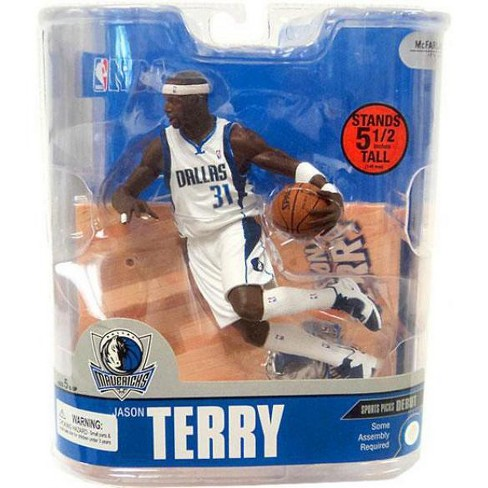 McFarlane Toys NBA Dallas Mavericks Sports Picks Series 13 Jason Terry Action Figure [White Jersey] - image 1 of 2