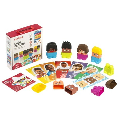 Miniland Emotiblocks - Interchangeable Pieces for Social and Emotional Learning