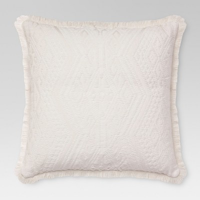 Cream Global Texture Oversized Throw Pillow - Threshold™