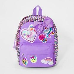 Girls' JoJo Siwa Reverse Sequin Mini Backpack - Purple