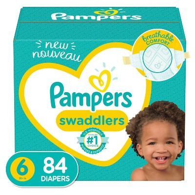 Pampers Swaddlers Diapers - Size 6 - 84ct
