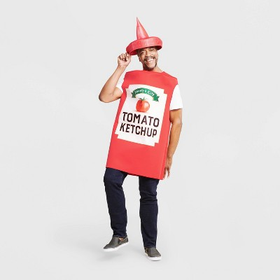 Adult Ketchup Halloween Costume One Size - Hyde & EEK! Boutique™
