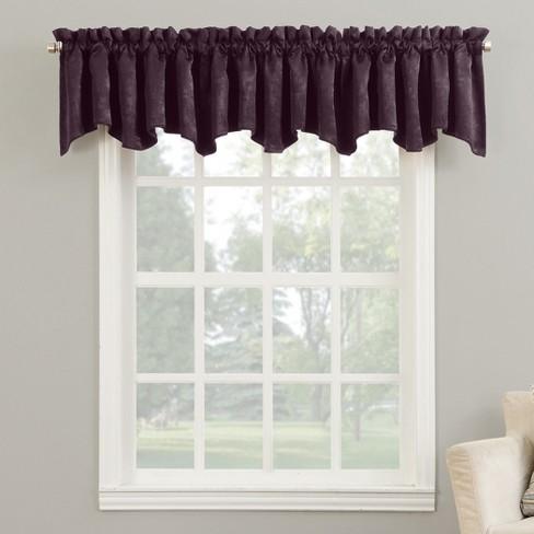 Sun Zero Cidy Velvet Blackout Rod Pocket Curtain Panel