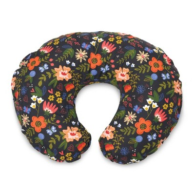 Boppy Nursing Pillow Slipcover - Black Floral