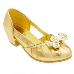 Disney Princess Belle Kids' Dress-Up Shoes - Size 13-1- Disney store, Yellow