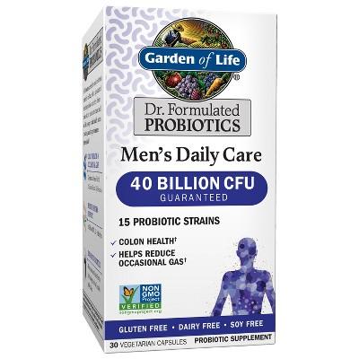 Probiotics: Garden of Life Men's Daily