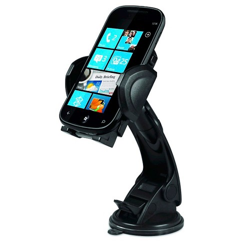 Macally Suction Cup Mount Phone/GPS/MP3/iPod/iPhone/iPad/Tablet/Smartphone - image 1 of 10