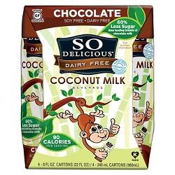 So Delicious Dairy Free Coconut Milk - 8oz - 4pk