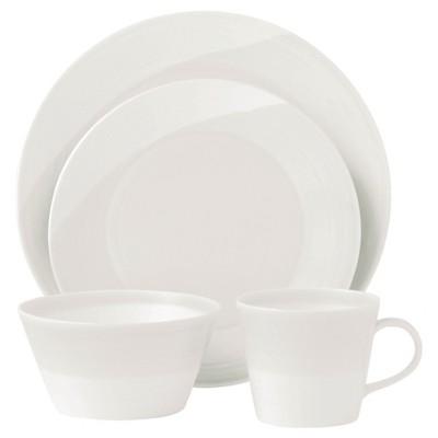 Royal Doulton 1815 16pc Dinnerware Set White