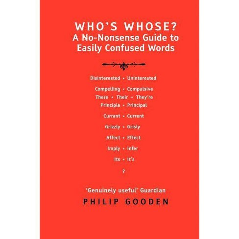 Who's Whose? - by  Philip Gooden (Paperback) - image 1 of 1