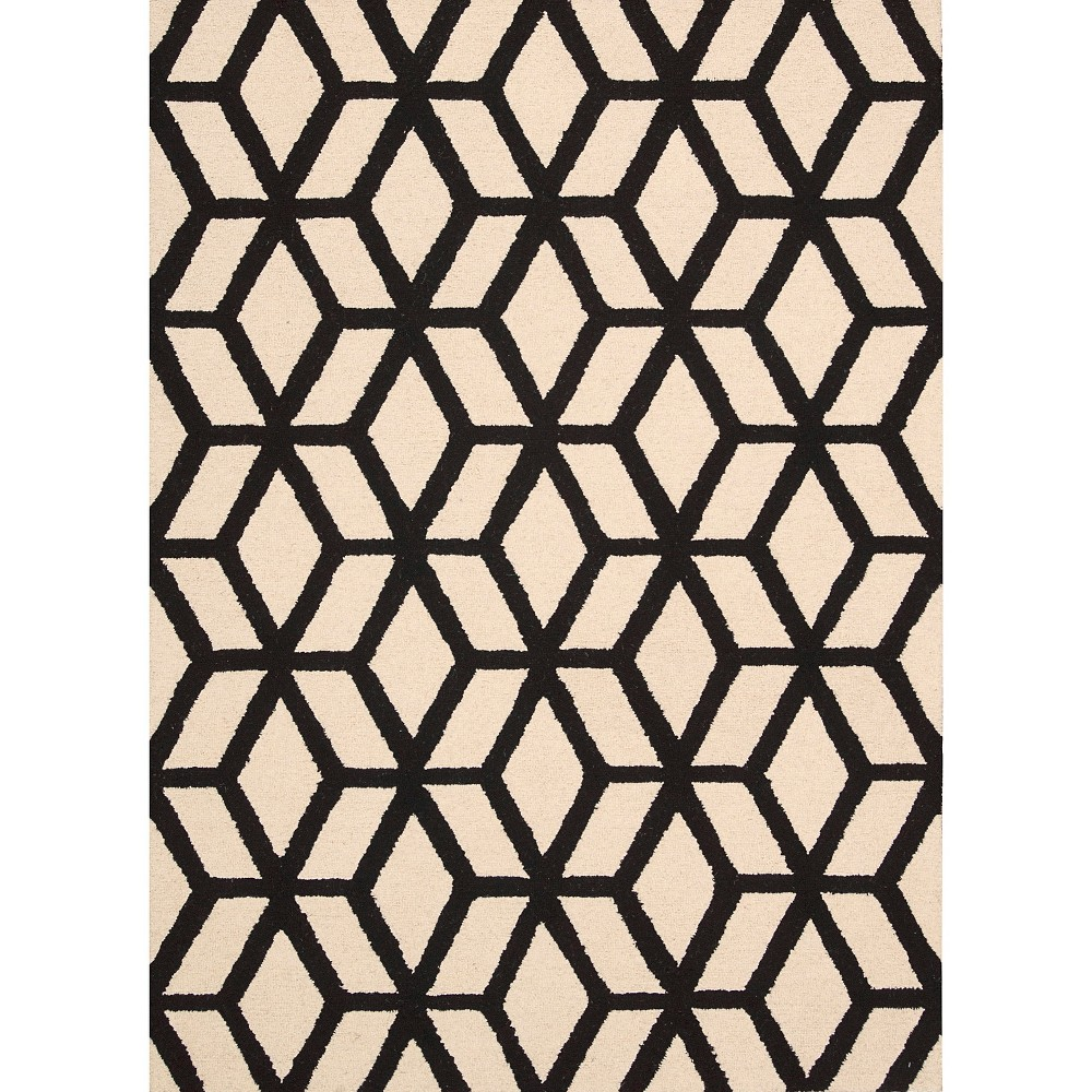 Nourison Kinetic Linear Accent Rug - Ivory/Black (3'9