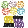 Sportime Katch-N-Throw Sticks, Yellow/Violet, set of 12 - image 2 of 2