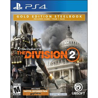 Tom Clancys: The Division 2 Gold Edition Steelbook - PlayStation 4