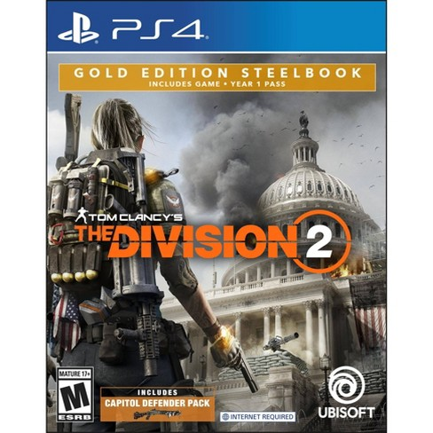 Tom Clancy's: The Division 2 Gold Edition Steelbook - PlayStation 4