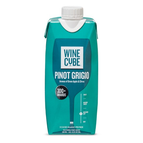 Pinot Grigio White Wine - 500ml Carton - Wine Cube™ - image 1 of 2