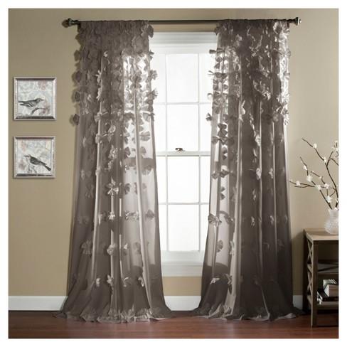Riley Window Curtain Gray 84 Quot X54 Quot Lush D 233 Cor Target