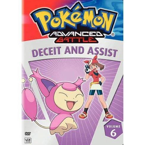 Pokemon Advanced Battle Volume 6: Deceit & Assist (DVD) - image 1 of 1