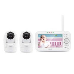 "VTech 5"" Digital Video Monitor PTZ with 2 Cameras"