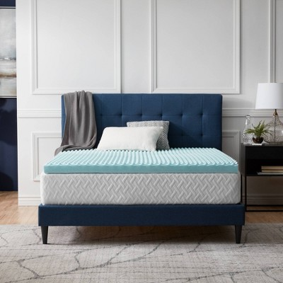 "Comfort Collection 3"" Gel Swirl Mattress Topper - Lucid"
