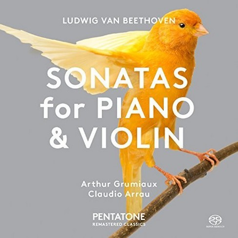 Arthur grumlaux - Beethoven:Sons for piano & violin (CD) - image 1 of 1