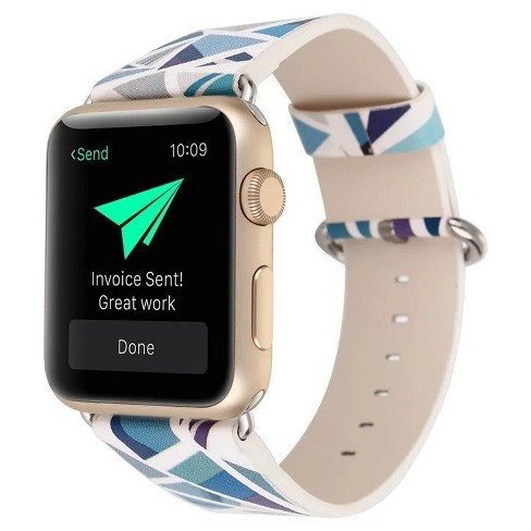 c1bfbdc61d7 IPM Vintage Leather Replacement Band For Apple Watch   Target
