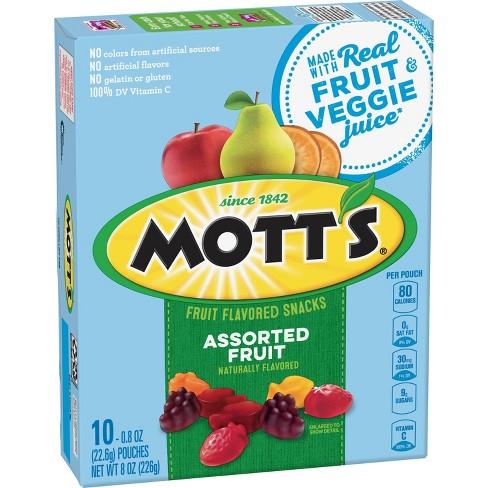 Mott's Assorted Fruit Flavored Snacks - 8oz/10ct - image 1 of 3