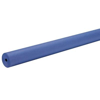Rainbow Duo-Finish Kraft Paper Roll, 40 lb, 48 Inches x 200 Feet, Royal Blue