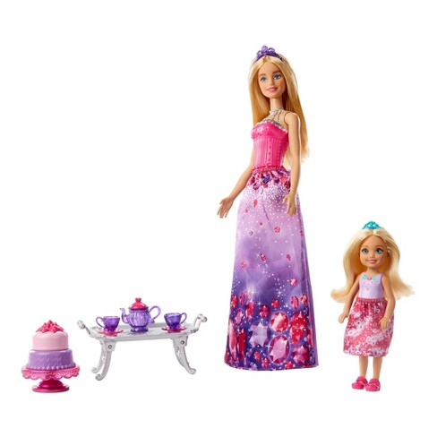 Barbie Dreamtopia Dolls and Tea Party Playset - image 1 of 8