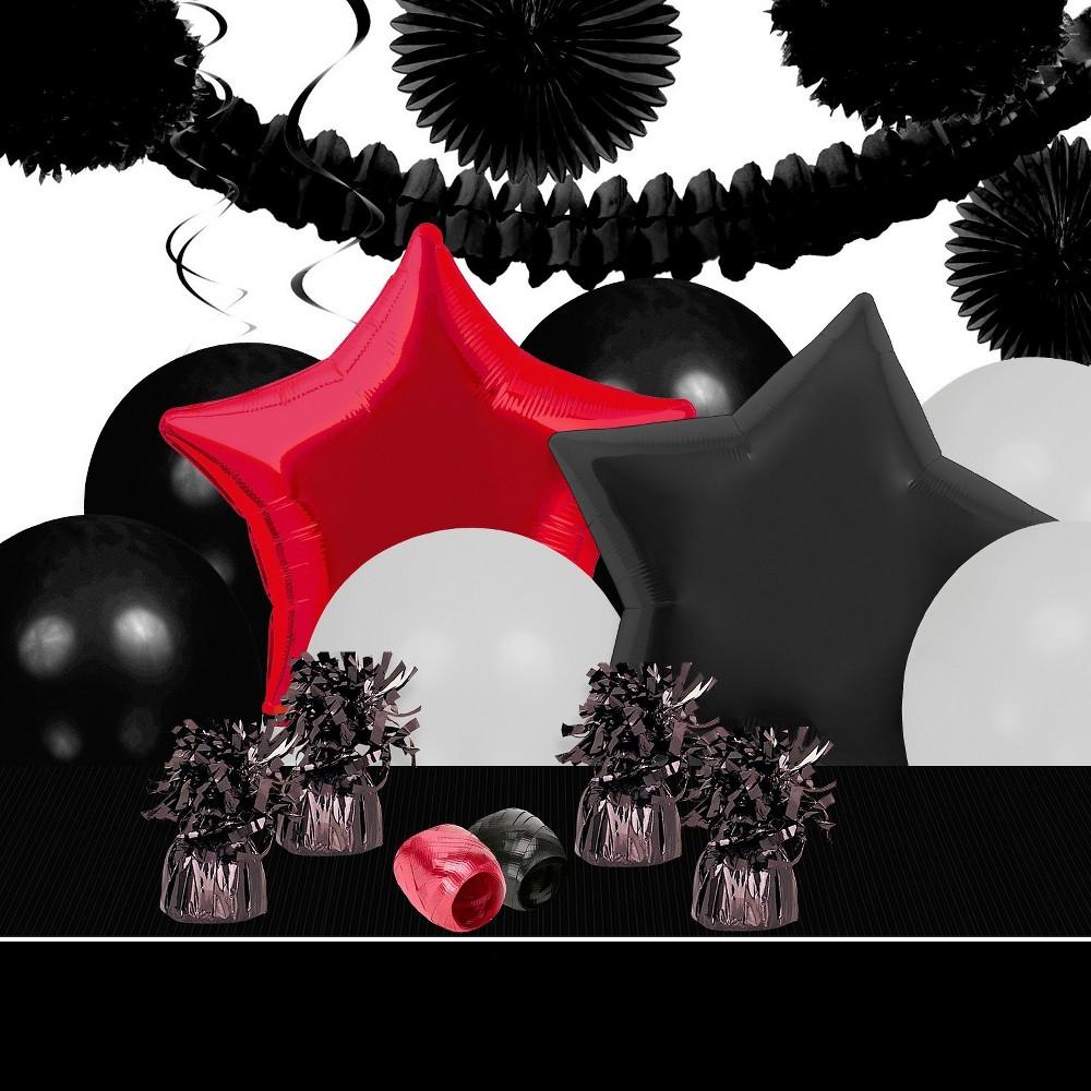 BuySeasons Top Secret Spy Decoration Kit, Multi-Colored