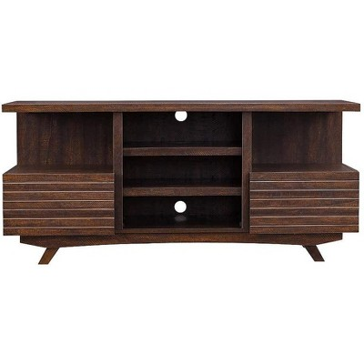 HearthPro SoHo Electric Fireplace TV Stand in Mahogany - SP6555-OF