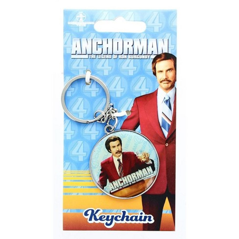 Se7en20 Anchorman The Legend of Ron Burgundy Keychain - image 1 of 2