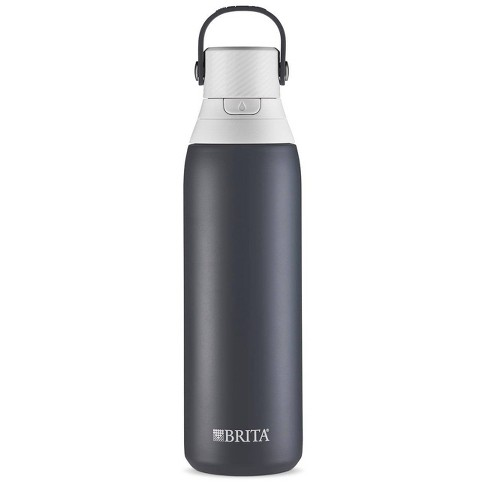 Brita Premium Filtered Water Bottle Stainless - Carbon - image 1 of 2