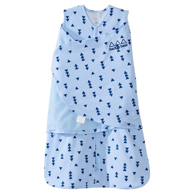 HALO® SleepSack® 100% Cotton Swaddle - Denim Blue Triangle