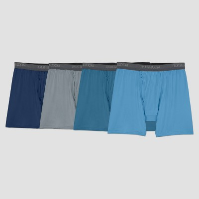 Fruit of the Loom Men's Comfort Stretch Microfiber Boxer Briefs