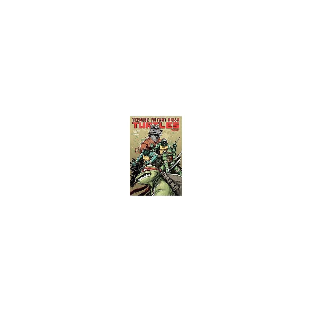 Teenage Mutant Ninja Turtles 1 : Change Is Constant (Paperback) (Kevin Eastman & Tom Waltz)
