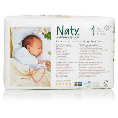 ECO by Naty Jumbo Pack Diapers - Size 1 (26 ct)