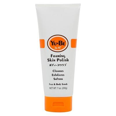 Yu-Be Foaming Skin Polish 6.75oz