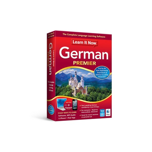 Avanquest Learn it Now German - PC - Email Delivery - image 1 of 1