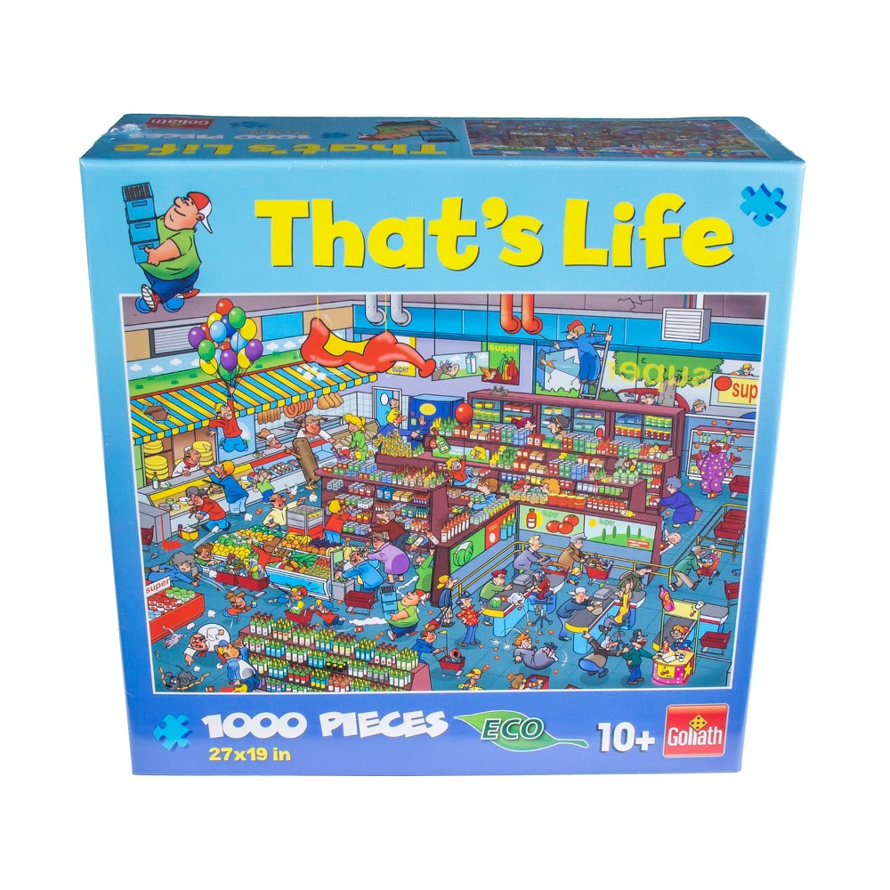 Goliath That's Life - The Supermarket Puzzle 1000pc