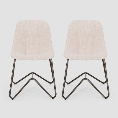 Set of 2 Norwood Contemporary Dining Chair - Christopher Knight Home