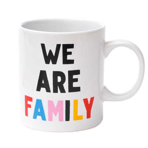 Stoneware Mug We Are Family - Junk Food - image 1 of 1