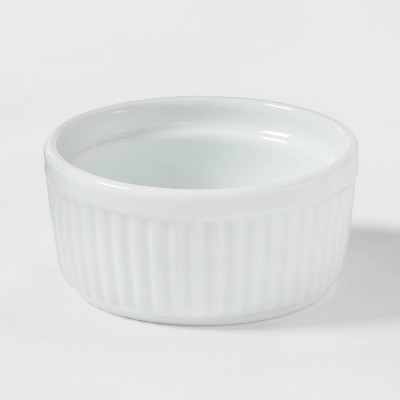 4.7oz Porcelain Ramekin White - Threshold™